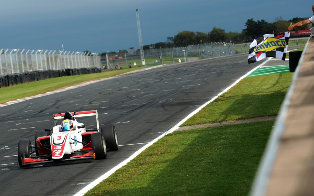 20 SEP HOGGARD TURNS DOUBLE POLE INTO DOUBLE WINS AT DONINGTON