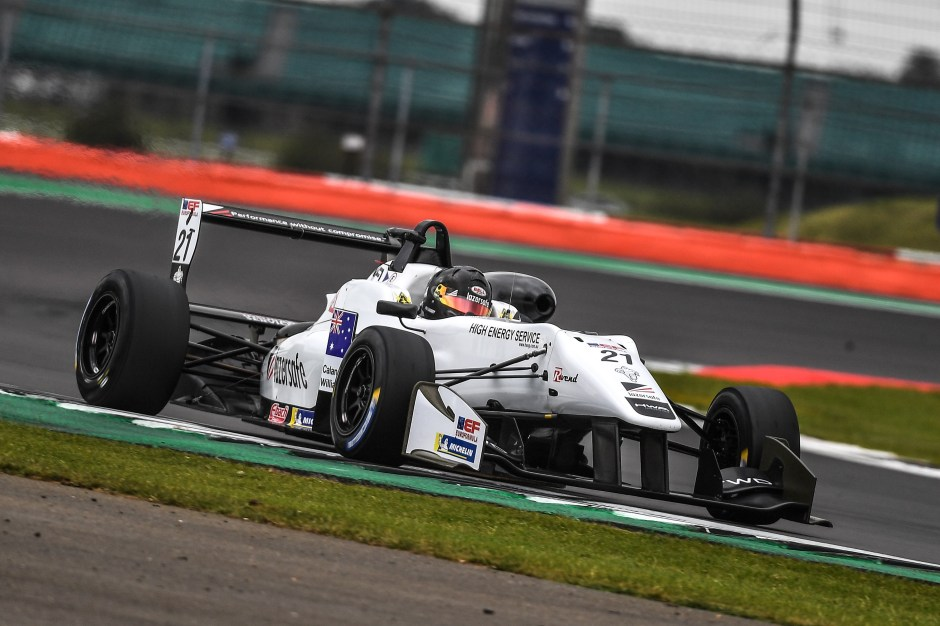 13 SEP TEAM FORTEC BRINGS CALAN WILLIAMS' 100TH RACE START AT SILVERSTONE