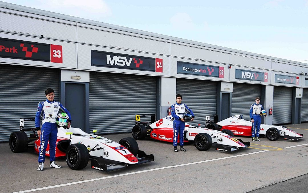 FORTEC MOTORSPORT LOOKING FORWARD TO BRITISH F4 SEASON OPENER AFTER PROMISING RETURN TO TESTING