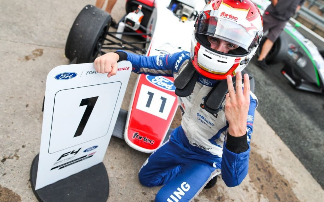 FORTEC MOTORSPORT MAKE HISTORY WITH TRIPLE VICTORY IN WEEKEND TO REMEMBER AT OULTON PARK
