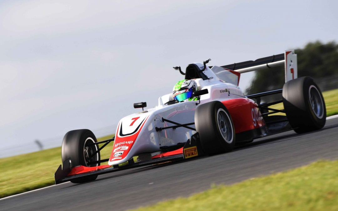 Roberto Faria graduates to BRDC British Formula 3 with Fortec Motorsport