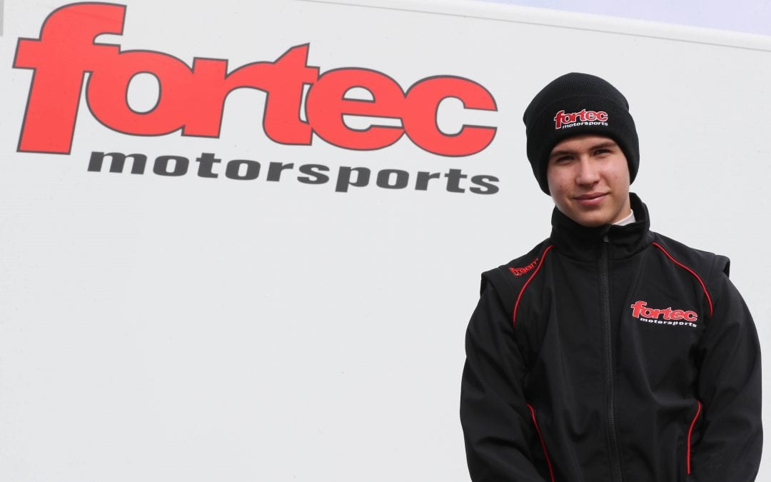 Karting star Oliver Gray confirms Fortec seat for 2021 campaign