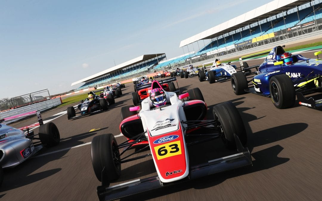 Fortec Motorsport begin British F4 title defence at Thruxton