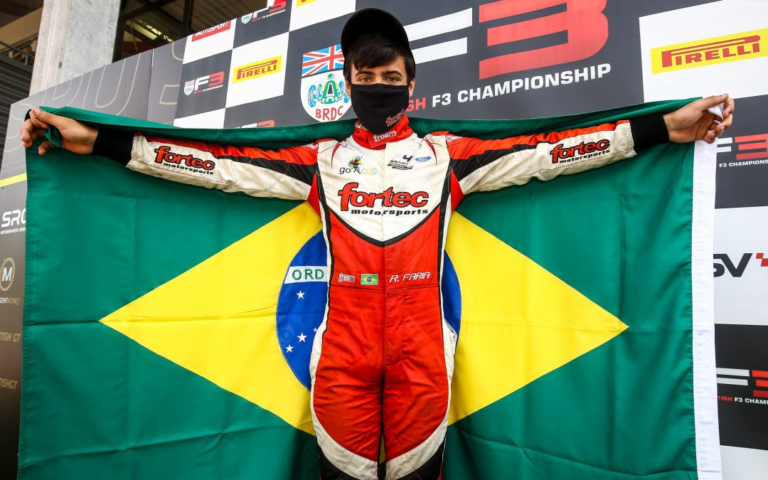 Fortec Motorsport celebrate 1-2-3 finish at iconic Spa-Francorchamps