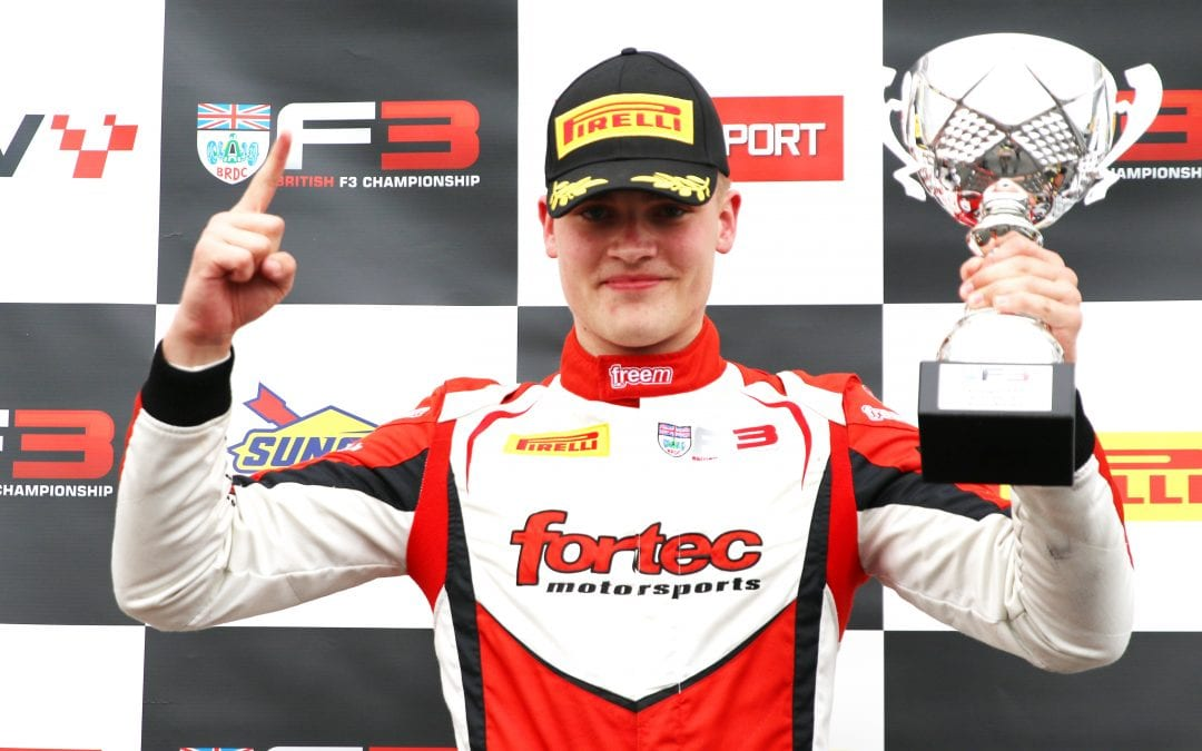 Fortec Motorsport score first British F3 win of 2021 at Donington Park